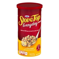 Kraft Stove Top Everyday Stuffing Mix for Chicken Food Product Image