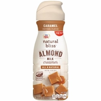 Nestle Coffeemate Natural Bliss Almond Milk Coffee Creamer Caramel Flavor Food Product Image