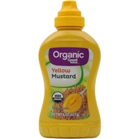 Great Value Organic Yellow Mustard Food Product Image