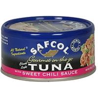 Safcol Tuna Chunk Lite, With Sweet Chili Sauce Food Product Image