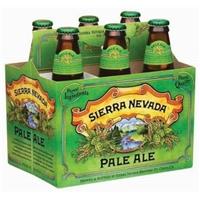 Sierra Nevada Pale Ale Beer Bottles - 6 CT Food Product Image