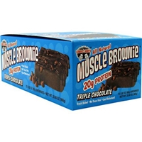 Lenny & Larry's Triple Chocolate Muscle Brownie Food Product Image