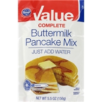 Kroger Value Pancake Mix Pouch Food Product Image