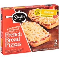 Stouffer's French Bread Pizza Cheese - 2 CT Food Product Image