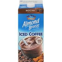 Blue Diamond Almond Breeze Mocha Iced Coffee Food Product Image