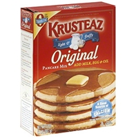 Krusteaz Pancake Mix Original, Light & Fluffy Food Product Image