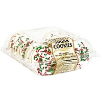 The Bakery Counter Holiday Frosted Sugar Cookies Food Product Image