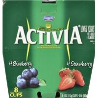 Dannon Activia Blueberry & Strawberry Yogurt