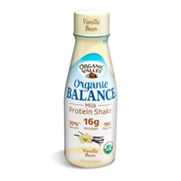 Organic Valley Organic Balance Milk Protein Shake Vanilla Bean Food Product Image