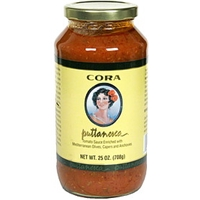 Cora Tomato Sauce Puttanesca Food Product Image