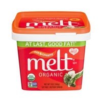 Melt Organic Soy Free Buttery Spread Rich & Creamy Food Product Image