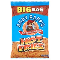 Andy Capp's Hot Fries Corn & Potato Snacks Food Product Image