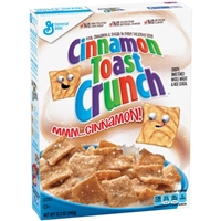 General Mills Cinnamon Toast Crunch Cereal Food Product Image