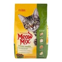 Meow Mix Cat Food Indoor Formula Food Product Image