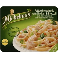Michelina's Traditional Recipes Fettuccine Alfredo with Chicken and Broccoli Food Product Image