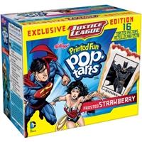 Kellogg's Pop-Tarts DC Comics Printed Fun Toaster Pastries 16ct 1.83lb Food Product Image
