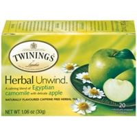 Twinings of London Herbal Tea Bags Camomile, Honey & Vanilla - 20 CT Food Product Image