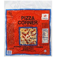 Pizza Corner Pizza Alfredo Garlic White Chicken White, 13 Inch Food Product Image