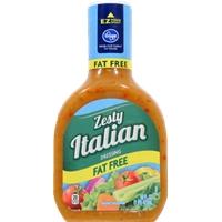 Kroger Zesty Italian Dressing Fat Free Food Product Image