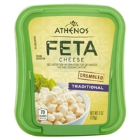 Athenos Feta Cheese Traditional Food Product Image