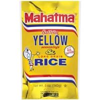 Mahatma Saffron Yellow Rice Food Product Image