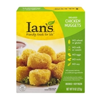 Ian's Breaded Chicken Nuggets Food Product Image
