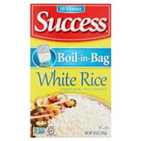 Success White Rice Boil-in-Bag - 4 CT Food Product Image