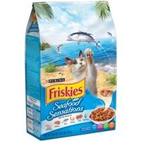 Purina Friskies Seafood Sensations Cat Food Food Product Image