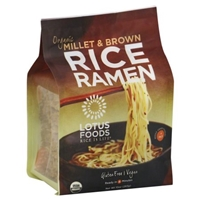 Lotus Foods Millet & Brown Rice Ramen Food Product Image