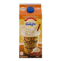 International Delight Iced Coffee Pumpkin Pie Spice Food Product Image