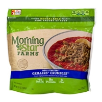 MorningStar Farms Meal Starters, Grillers Crumbles Food Product Image