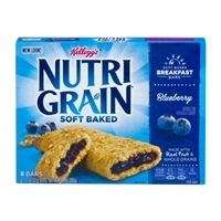 Kellogg's Nutri Grain Soft Baked Breakfast Bars Blueberry - 8 CT Food Product Image