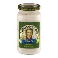 Newman's Own Pasta Sauce Alfredo Food Product Image