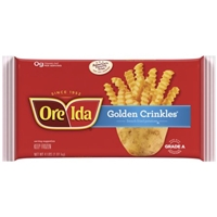 Ore-Ida Golden Crinkles French Fried Potatoes Food Product Image