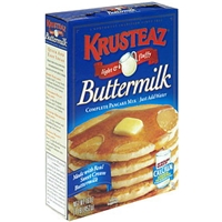 Krusteaz Pancake Mix Buttermilk Food Product Image