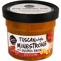 Sam's Choice Tuscan Style Minestrone with Uncured Bacon, 15.5 oz Food Product Image