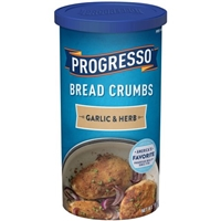 Progresso Garlic & Herb Bread Crumbs Food Product Image
