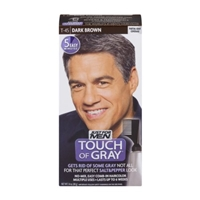 Just For Men Touch Of Gray Easy Comb-In Haircolor T-45 Dark Brown Food Product Image