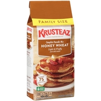 Krusteaz Wheat & Honey Pancake Mix Food Product Image