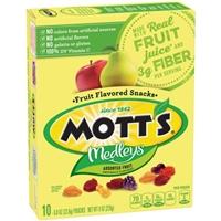 Mott's Original Fruit Flavored Snacks Assorted Fruit - 10 Ct Food Product Image