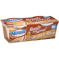 Minute Rice Ready To Serve Brown Rice - 2 Ct Food Product Image