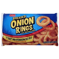 Giant Onion Rings Breaded Food Product Image
