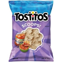 Tostitos Scoops! Tortilla Chips Food Product Image