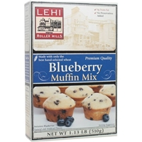 Lehi Blueberry Muffin Mix Food Product Image