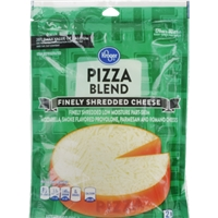 Kroger Finely Shredded Pizza Blend Cheese Food Product Image