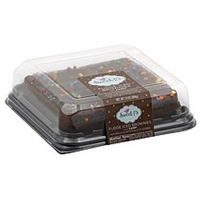 Sweet P's Brownies Fudge Iced, With Candy Food Product Image