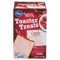 Kroger Frosted Toaster Treats - Cherry Food Product Image