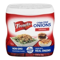 French's Crispy Fried Onions Original Food Product Image