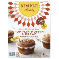 Simple Mills Gluten Free Pumpkin Muffin Mix Food Product Image