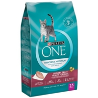 Purina One Purposeful Nutrition Urniary Tract Health Formula Premium Cat Food For Adult 1 + Food Product Image